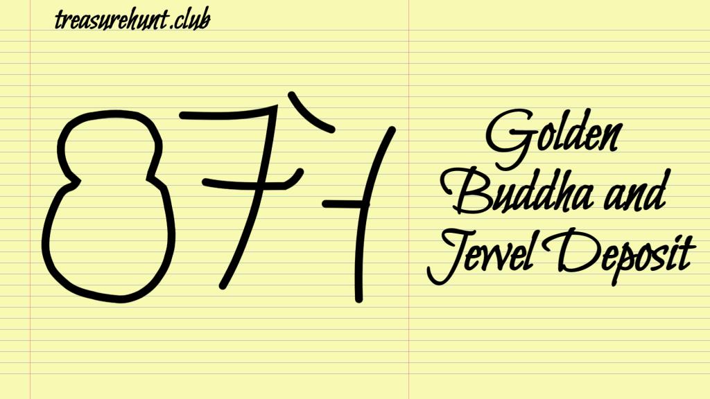 Golden Buddha and Jewel Deposit