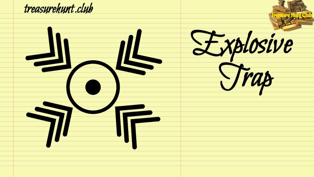 Explosive Sign Trap
