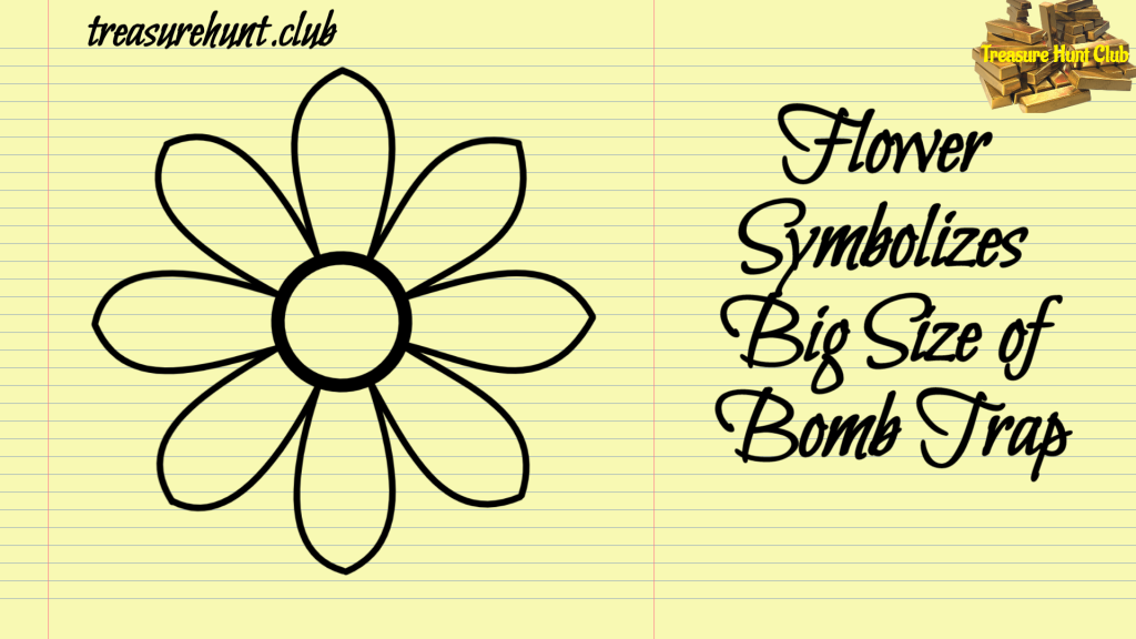 Flower Symbolizes Big Size Bomb Trap